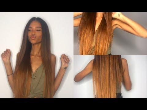 How To Dye: Golden Honey Brown ft. UNice Hair