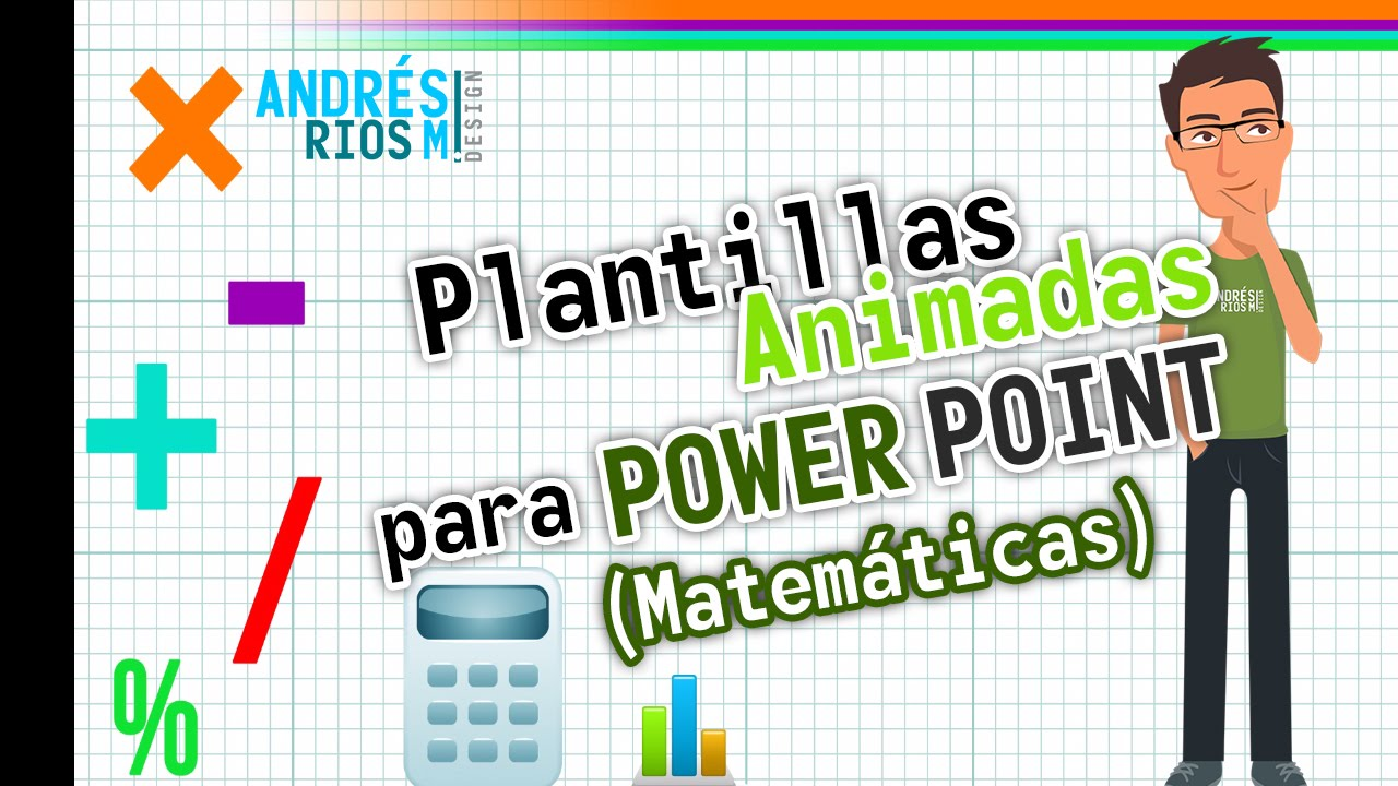Plantillas animadas para Power Point - Matemáticas - YouTube