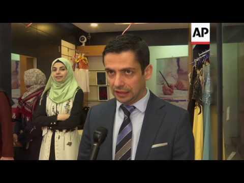 Palestinian women graduates open fashion store