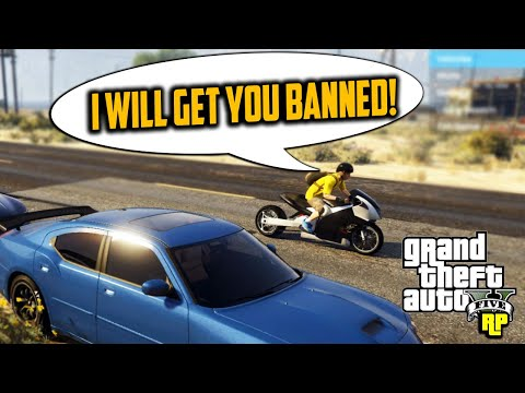 POWER HUNGRY KID THREATENS TO BAN US! (GTA RP)