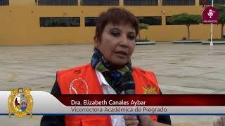 Tema: Sanmarquinos participan en Simulacro por Sismo y Tsunami