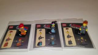 The Lego Movie Promotional Movie Polybags