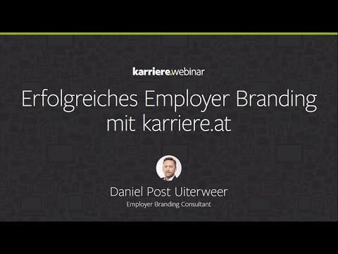 Erfolgreiches Employer Branding mit karriere.at | Webinar