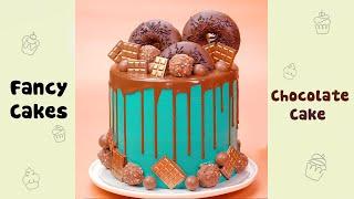 Donut Chocolate Cake Decorating Ideas #shorts