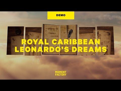 Royal Caribbean, Anthem of the Seas: Leonardo's Dreams [FULL SHOW]