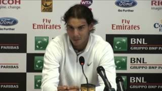 Nadal Gulbis Fight  ( HD)