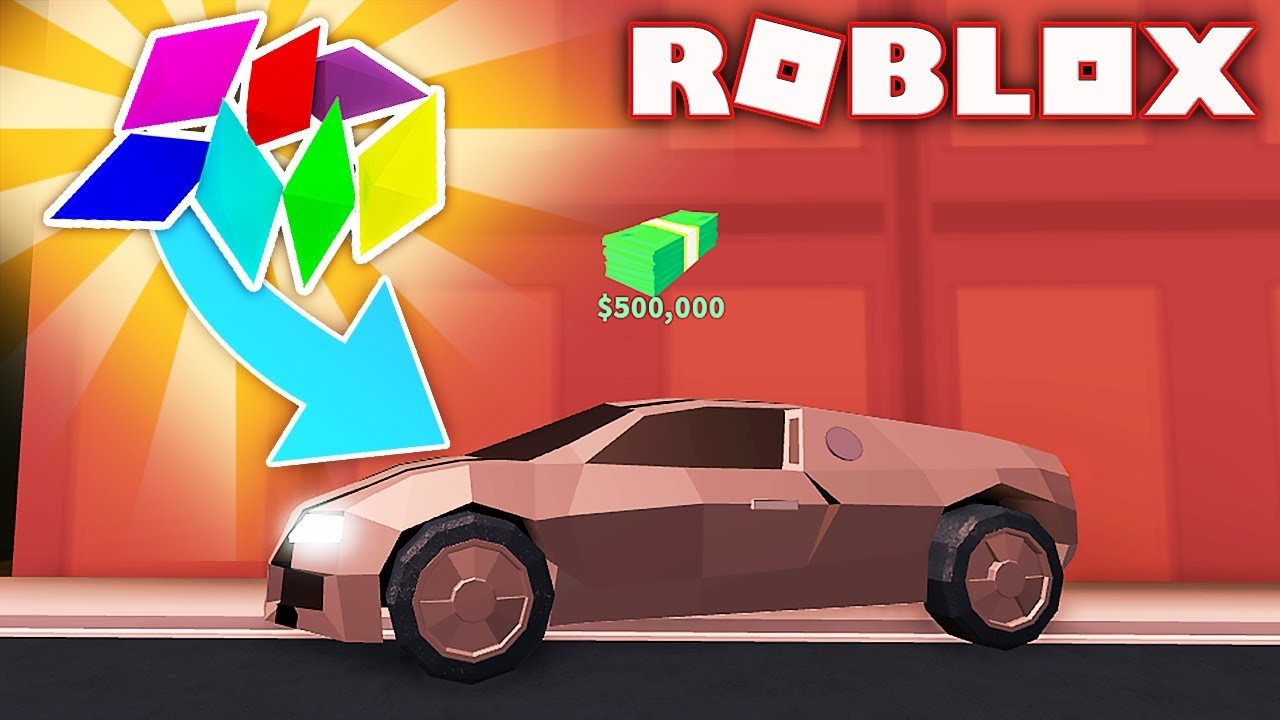 THE NEW CAR IN JAILBREAK COST $500,000 ROBUX! (Roblox)