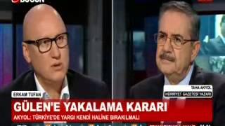 Erkam Tufan Analiz - Bugün TV - 22 Aralık 2014 - Taha Akyol'a Gündem Özel Sorular