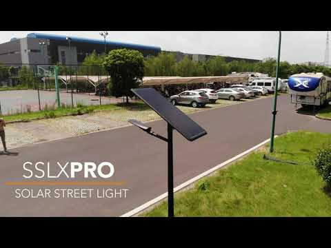 SOLAR STREET LIGHT  SSLXPRO  SOLUX
