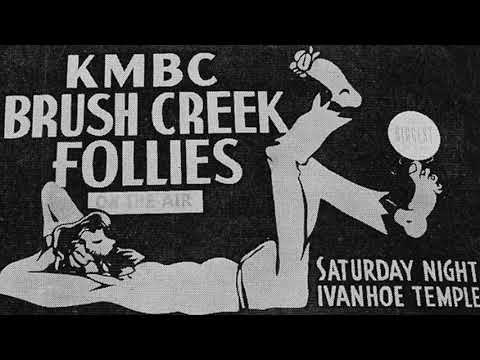 KMBC 980 Kansas City - Brush Creek Follies - March 1941