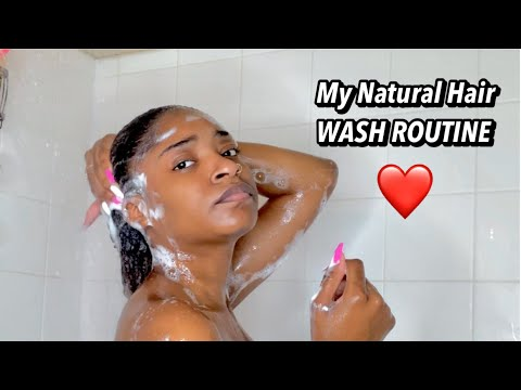 WASH DAY ROUTINE FOR NATURAL HAIR VERY AFFORDABLE