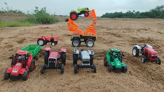 All Model Tractor Toys in Jcb Machine loding Videos