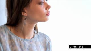 Modern Vintage Earrings, JewelMint Thumbnail