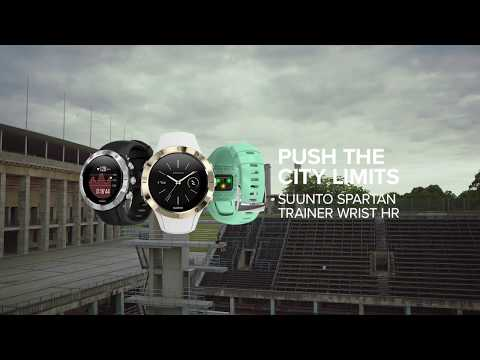 Suunto Spartan Trainer Wrist HR - the lightweight multisport GPS watch with wrist HR