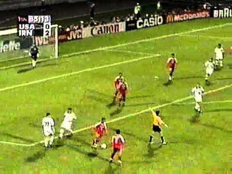 Major Nourhaghighi: Iran vs USA Last 15 Min World Cup France 1998 Travel Video