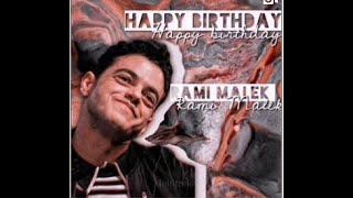 Happy 39th Birthday Rami Malek!