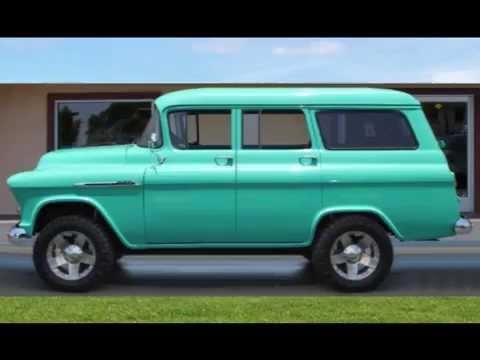 1955 chevrolet suburban 4 door 4x4 youtube for 1955 chevy 4 door for sale