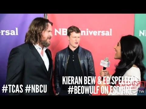 Kieran Bew & Ed Speleers Beowulf at NBCUniversal's Winter 2016 Press TCA Tour NBCU TCA2016
