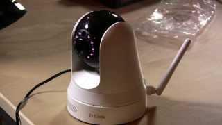 D-Link Wireless Pan and Tilt Day Night Network Surveillance Camera Review DCS-5020L