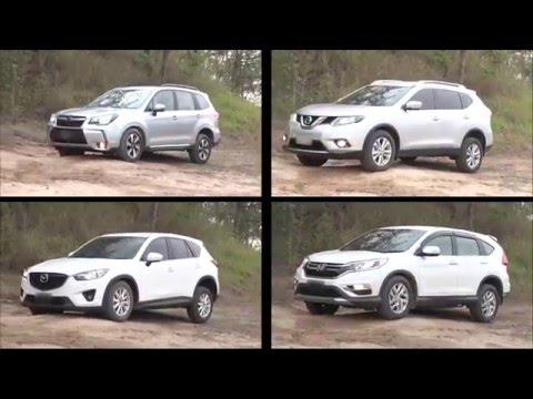 SUV Comparisons Review 2016