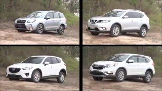SUV Comparisons Review 2016