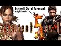 Resident Evil 5 - Schnell Geld Farmen / Geld Trick! Teil 1 (PS4)