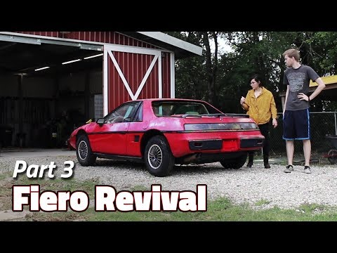 Fiero Drive With Me | 1985 Fiero 2M4 Revival - Part 3