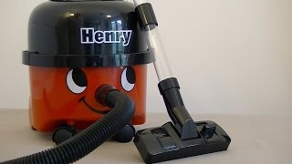 Little Numatic Henry Vacuum Cleaner By Casdon Review & Demonstration