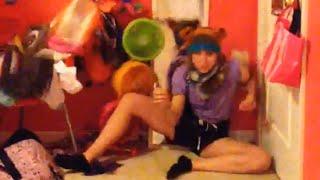 Girl Dancing in Bedroom Takes Out Shelf l Dancing Fail