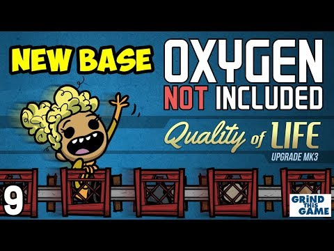 Oxygen Not Included #9 - ZOMBIE SPORES - Quality of Life Upgrade Mk 3 (QoL Mk3)