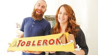 GIANT TOBLERONE RECIPE How To Cook That Ann Reardon