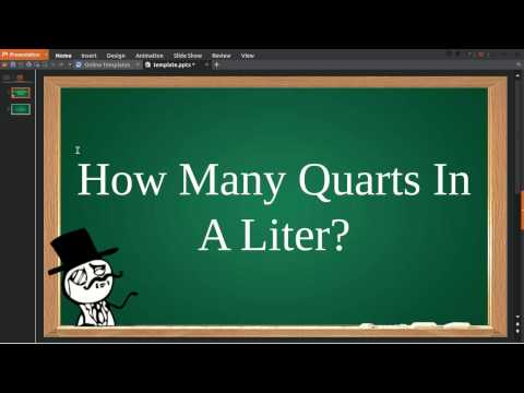 How Many Quarts In Liter