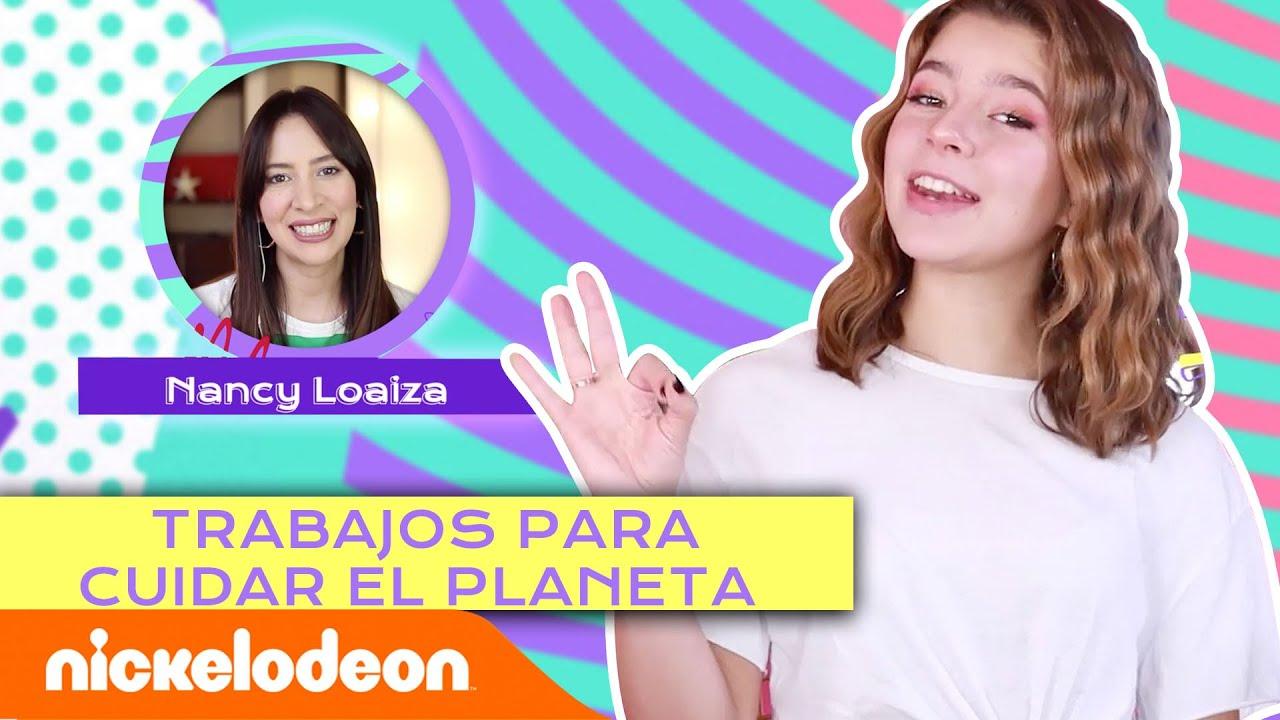 Trabajos para cuidar el planeta c/Nancy Loaiza 👷 | Planeta Bala | Nickelodeon en Español