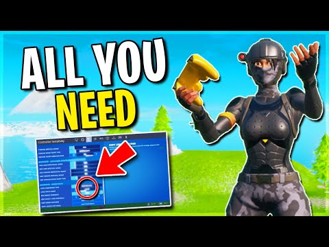 Advanced Fortnite Controller Settings + Aim Assist.. Everything You NEED