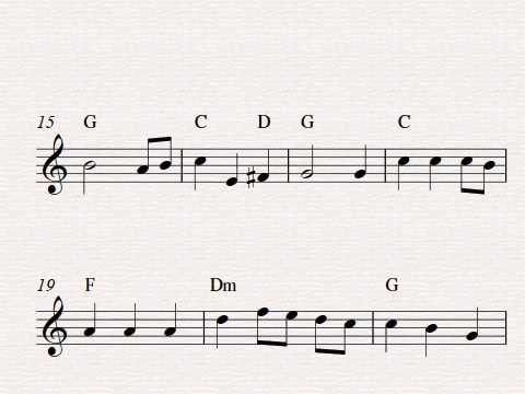 Free easy violin sheet music, The Star-Spangled Banner