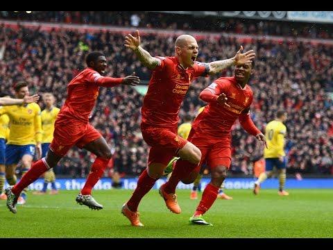 Liverpool 5-1 Arsenal 2013/2014 |HD|