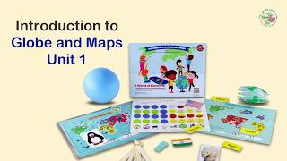 Interactive World Atlas Series - Book 1 Introduction to Globe and Maps