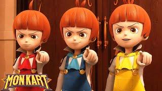 🐲 Monkart - Tập 43 Siêu Nhân Robot Biến Hình | Ô tô hoạt hình vui nhộn | Hoạt hình Siêu Nhân Rô Bốt