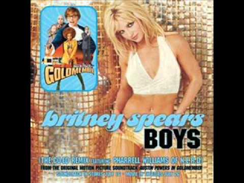 Britney Spears - Boys (Co-Ed Remix feat. Pharrel Williams of N.E.R.D)
