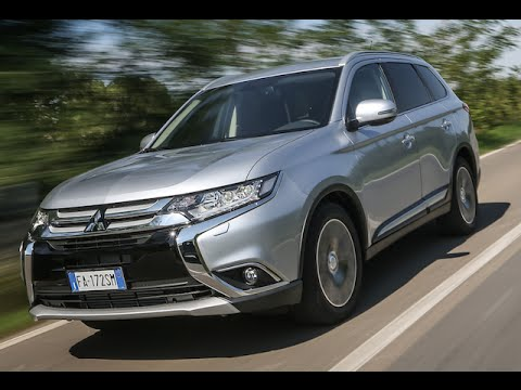 new mitsubishi outlander 2016 - first test drive only sound - youtube