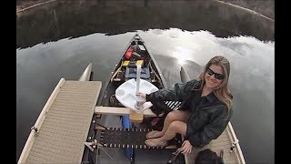 Old Town Canoe, 6 h.p. Mercury, ExpandaCraft Outriggers  , 3DR SOLO  Drone