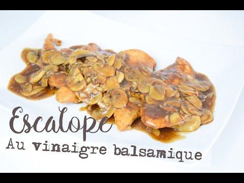 escalope-au-vinaigre-balsamique