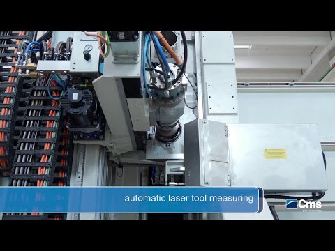 CMS ypsos - Automatic laser tool measuring