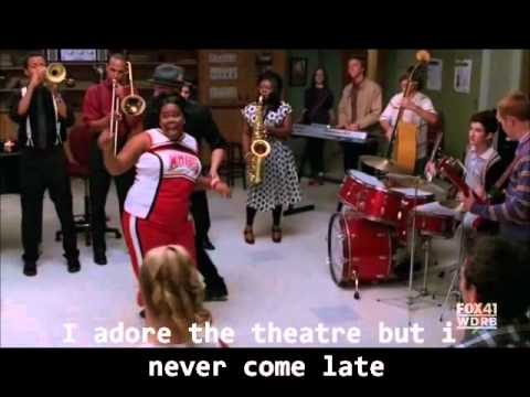 Puck and Mercedes - Lady is a tramp - Glee