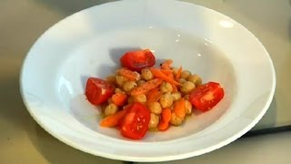 Carrot & Chickpea Salad : Carrot Recipes