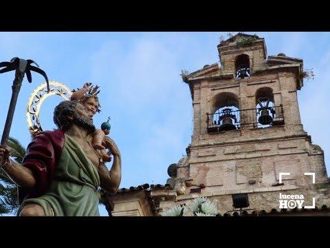 VÍDEO: Algunos retazos de la Procesión de San Cristóbal 2018