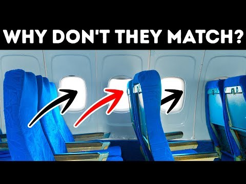 Why Plane Seats and Windows Don't Match Up And 31 Rare Facts About Flights