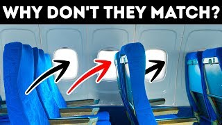 Why Plane Seats and Windows Don