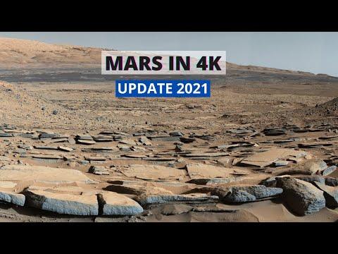 MARS IN 4K UPDATE 2021 NASA Planet MARS MISSION Documentary