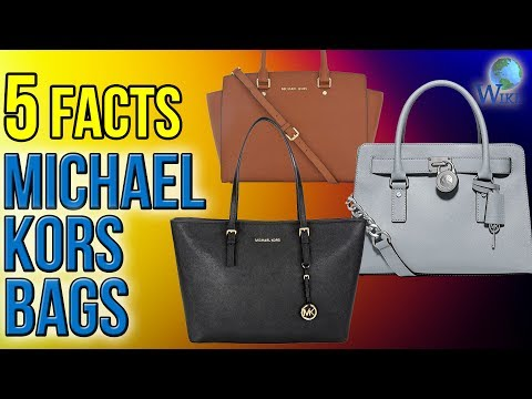Michael Kors Bags: 5 Fast Facts